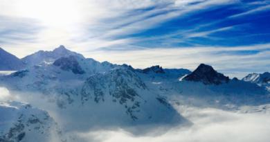 Sölden Зельден горнолыжный курорт Австрии