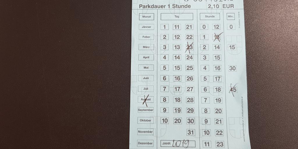 Парковка в Вене